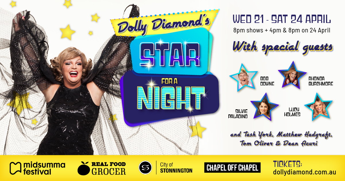 Dolly Diamond's Star for a Night!