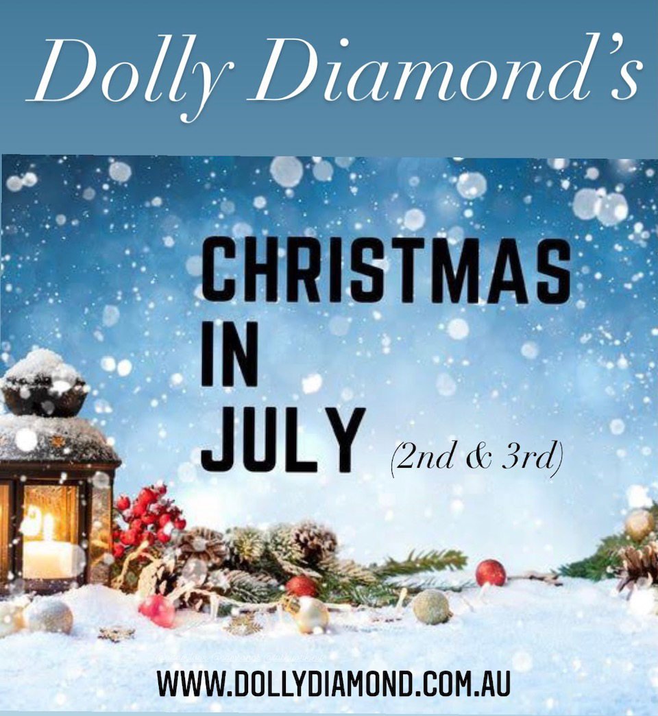 Dolly Diamond's Christmas in July